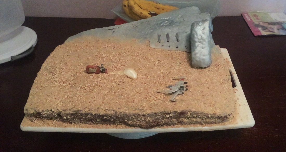 Star Wars Force Awakens Cake